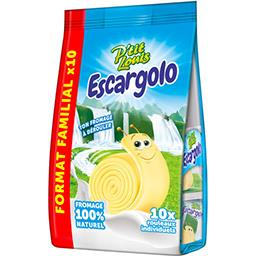 P'tit Louis P'tit Louis Fromage à dérouler Escargolo le paquet de 10 fromages - 167 g - Format familial