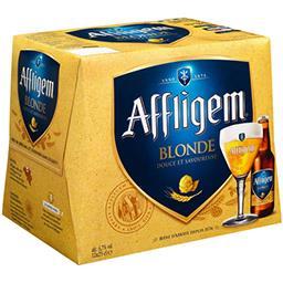 Affligem Affligem Bière blonde d'Abbaye les 12 bouteilles de 25cl
