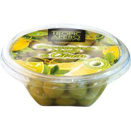 Tropic Apéro Tropic Apéro Olives vertes farcies à la pulpe de citron la barquette de 120 g
