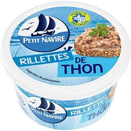 Petit Navire Petit navire Rillettes de thon le pot de 125 g