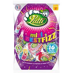 Lutti Lutti Bonbons mini Bestfizz sans gluten Le sachet de 400g