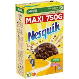 Nestlé Nestlé Nesquik Céréales petit déjeuner au chocolat la boite de 750g