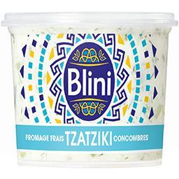 Blini Blini Tzatziki, fromage frais et concombres le pot de 200g