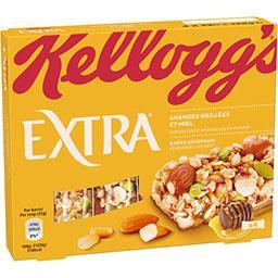 Kellogg's Kellogg's Extra - Barres Céréales Miel les 4 barres de 32g - 128g