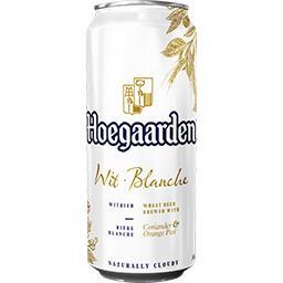 Hoegaarden Hoegaarden Bière blanche originale aromatisée aux épices la boite de 50 cl
