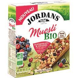 Jordans Jordans Muesli superfruits & graines BIO la boite de 450 g