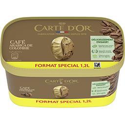 Carte d'Or Carte d'Or Crème glacée au café et morceaux de chocolat aromatisés au café le bac de 644g