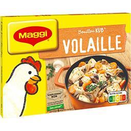 Maggi Maggi Bouillon Kub volaille les 18 tablettes - 180g