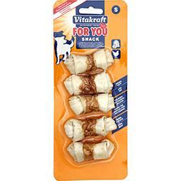 Vitakraft Vitakraft Os à mâcher noués au poulet taille S le paquet de 5 de 14g - 70g