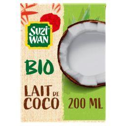 Suzi Wan Suzi Wan Lait de coco BIO la brique de 200 ml