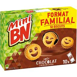 BN BN Mini BN - Biscuits goût chocolat Le Paquet de 350 g