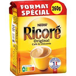Nestlé Nestlé Ricoré - Café & chicorée solubles le paquet de 260 g - Format Spécial