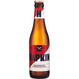 Heineken Hapkin Bière blonde forte la bouteille de 330 ml