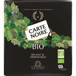 Carte Noire Carte Noire Café moulu BIO les 2 paquets de 250 g