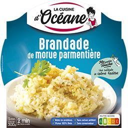 La Cuisine d'Océane La Cuisine d'Océane Brandade de morue parmentière La barquette de 300g