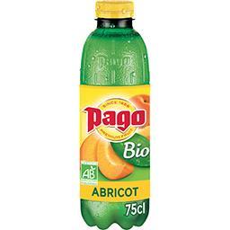 Pago Pago Nectar d'abricot BIO la bouteille de 75 cl