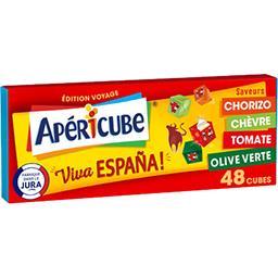 Apéricube Apéricube Fromage fondu apéritif viva Espana la boite de 48 cubes - 250 g