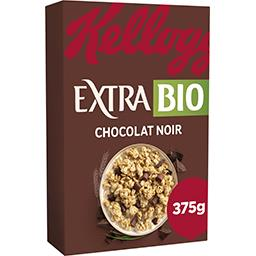 Kellogg's Kellogg's Extra BIO - Céréales Chocolat Noir la boîte de 375g