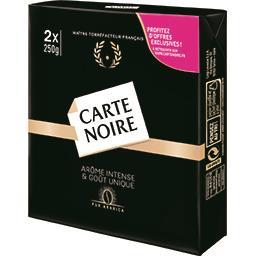 Carte Noire Carte Noire Café moulu pur arabica les 2 paquets de 250 g
