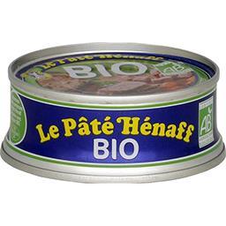 Henaff Hénaff Pâté pur porc BIO La boîte de 76g