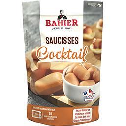 Regis Bahier Bahier Saucisses Cocktail le sachet de 150 g