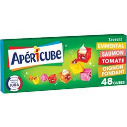 Apéricube Apéricube Fromage fondu apéritif long drink la boite de 48 cubes - 250 g