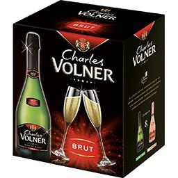Charles Volner Charles Volner Vin mousseux blanc de blancs brut charles volner Le carton de 6 bouteilles x 75cl
