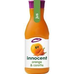 Innocent Innocent Pur jus orange & carotte la bouteille de 900 ml
