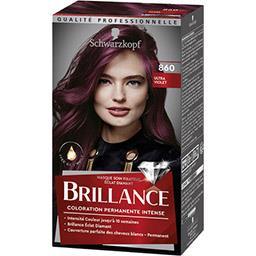 Schwarzkopf Schwarzkopf Brillance - Coloration Luminance Ultra Violet 860 la boite de 142,5 ml