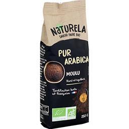 Naturela Naturela Café moulu pur arabica BIO le paquet de 250 g