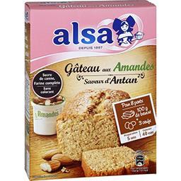 Alsa Alsa Saveur d'Antan - Gâteau aux amandes la boite de 300 g