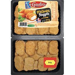 Le Gaulois Le gaulois Maxi Nuggets de dinde la barquette de 50 - 1 kg