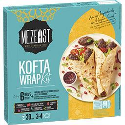 Nestlé Nestlé Mezeast - Cuisine du Moyen-Orient - Kit de wrap Kofta la boîte de 362g