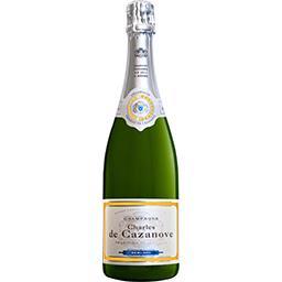 Charles de Cazanove Sélection Foire aux vins Champagne demi-sec tradition - départ de nos caves la bouteille de 75cl