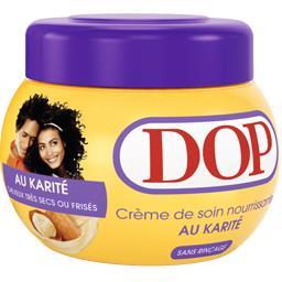 Crème de soin au Karité, cheveux très secs ou frisés, sans rinçage