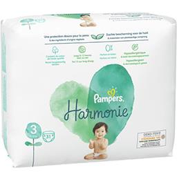 Pampers Pampers Pampers harmonie t3 gt x31 Pack de 31 couches