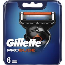 Gillette Gillette Recharges de lames de rasoir pour homme Proglide Le paquet de 6 lames