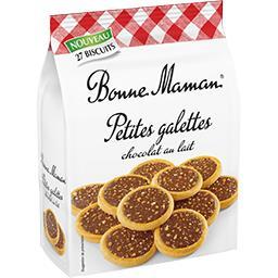 Bonne Maman Bonne Maman Petites galettes chocolat au lait le paquet de 250 g