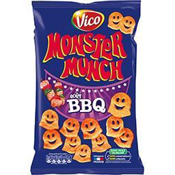 Monster Munch Vico Monster Munch - Petits monstres salés goût barbecue le paquet de 85 g