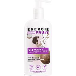 Energie Fruit Energie Fruit Masque & après shampooing 2 en 1 coco et beurre de karité le flacon de 300 ml