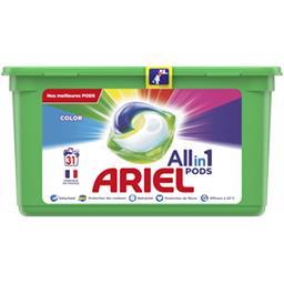 Ariel Ariel Lessive en capsules All in 1 pods couleur La boîte de 31 lavages