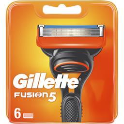 Gillette Gillette Recharges de lames de rasoir pour homme Fusion5 Le paquet de 6 lames