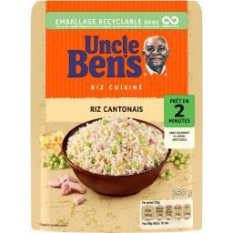 Uncle Ben's Uncle Ben's Riz cantonais le paquet de 250 g
