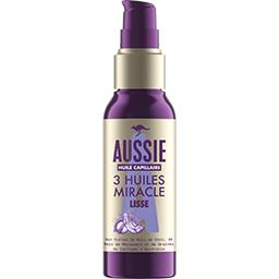 Huile capillaire lissant, lisse trois huiles miracle