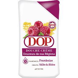Dop Dop Douche crème douceurs de nos régions, framboise de la Vallée du Rhône le flacon de 250 ml