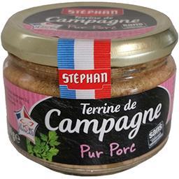 Stéphan Stéphan Terrine de campagne pur porc le pot de 180 g