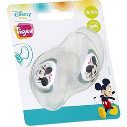 Walt Disney Tigex Sucette silicone +18 mois mickey Le lot de 2