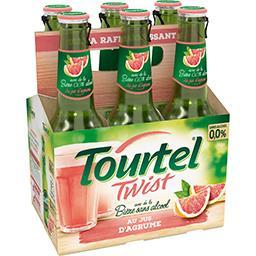 Tourtel Twist Tourtel twist Bière sans alcool au jus d'agrume les 6 bouteilles de 27,5cl - 1.6l