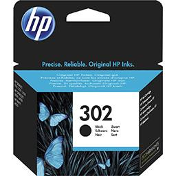 Hewlett Packard HP Cartouche d'encre N°302 noir la cartouche