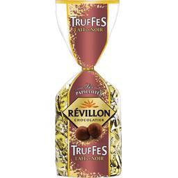 Révillon Révillon Chocolatier Les Papillotes Truffes lait et noir la boite de 370 g